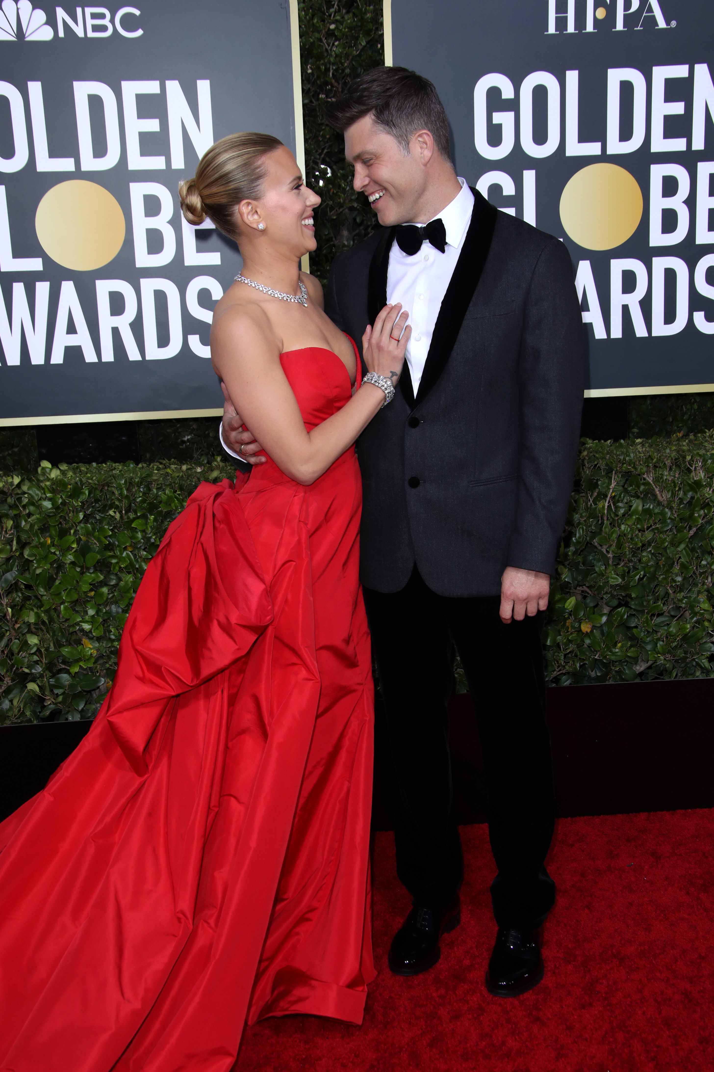 Scarlett Johansson and Colin Jost77th Annual Golden Globe Awards, Arrivals, Los Angeles, USA - 05 Jan 2020