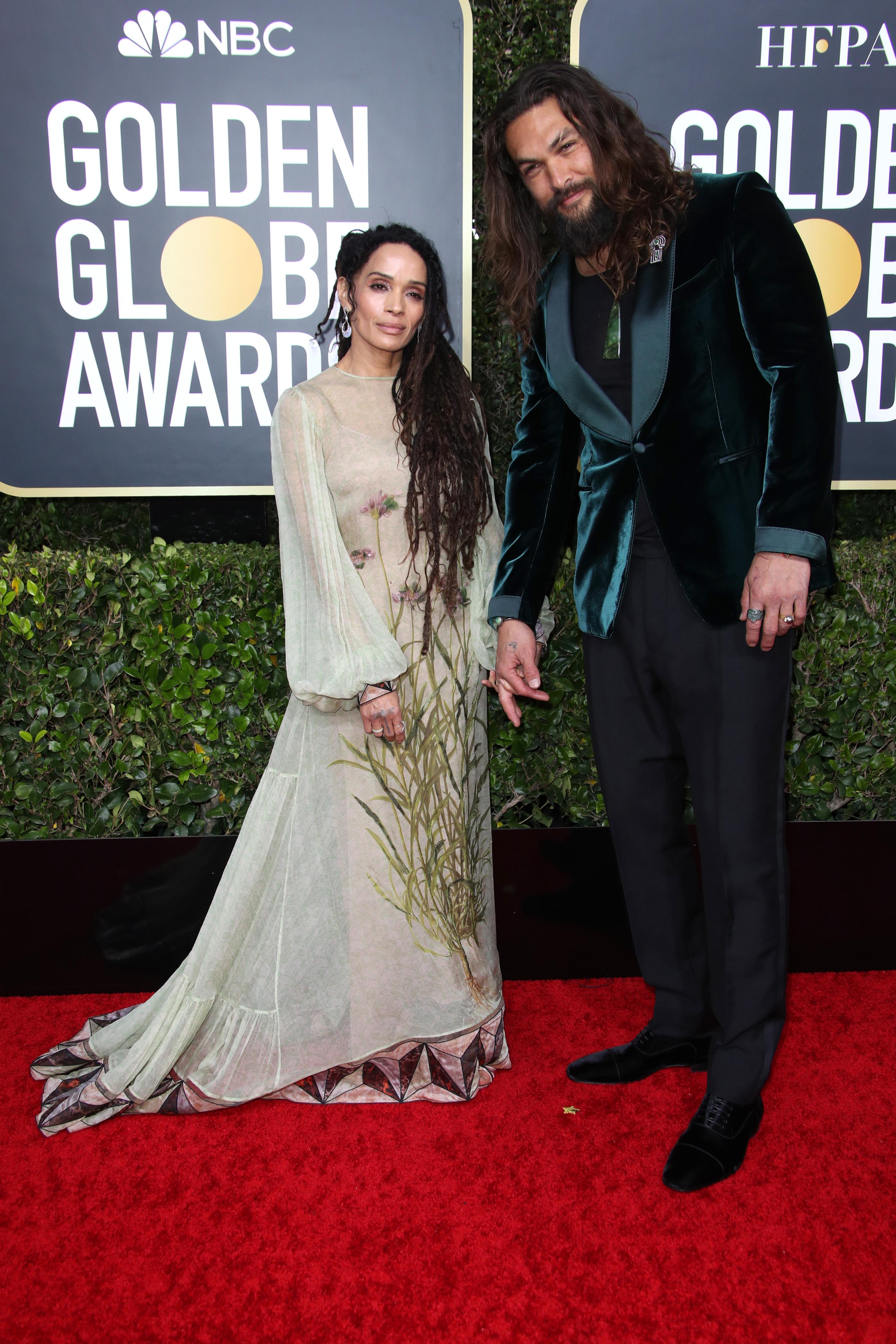 Lisa Bonet and Jason Momoa77th Annual Golden Globe Awards, Arrivals, Los Angeles, USA - 05 Jan 2020