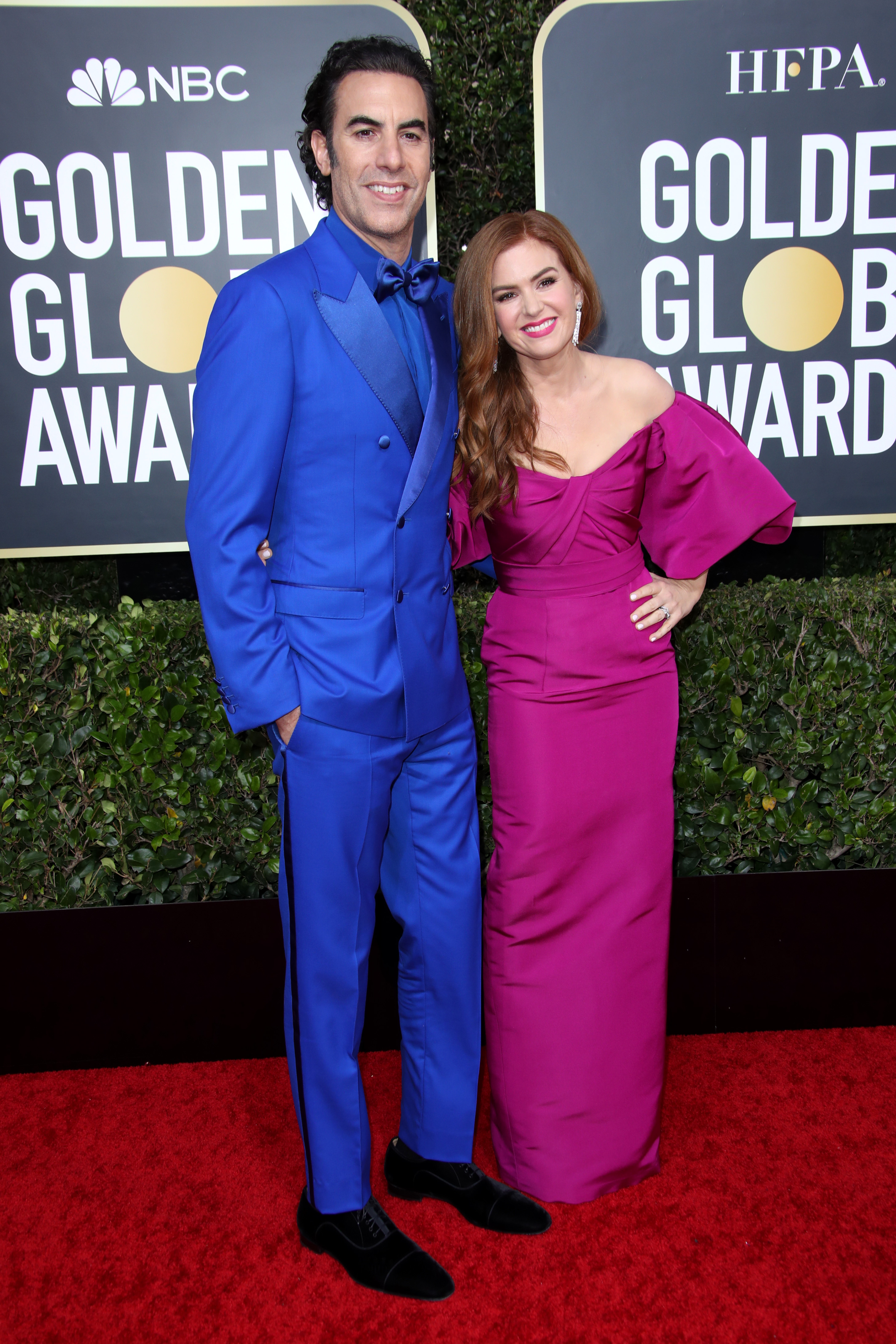 Sacha Baron Cohen and Isla Fisher77th Annual Golden Globe Awards, Arrivals, Los Angeles, USA - 05 Jan 2020