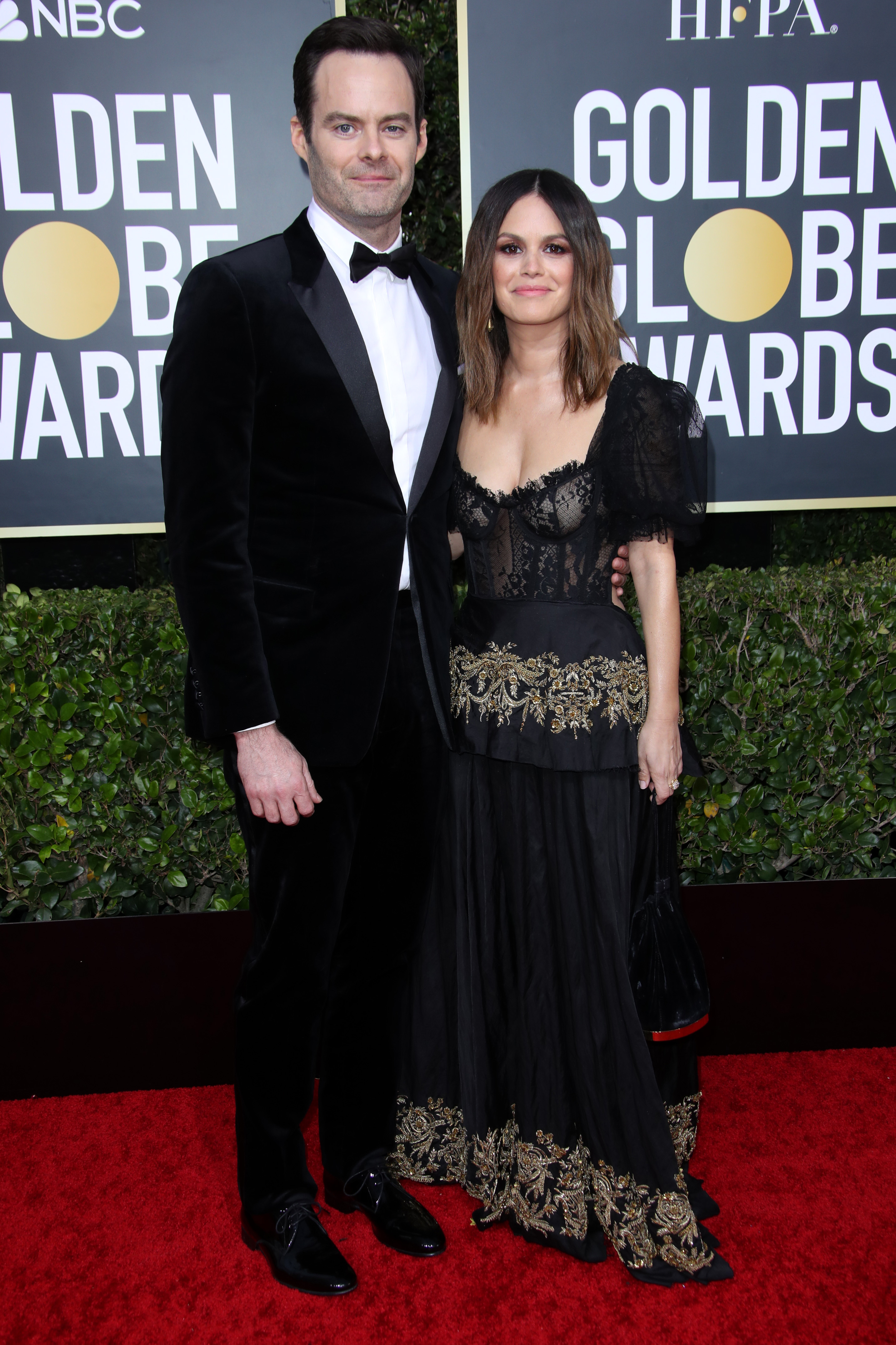 Bill Hader and Rachel Bilson77th Annual Golden Globe Awards, Arrivals, Los Angeles, USA - 05 Jan 2020