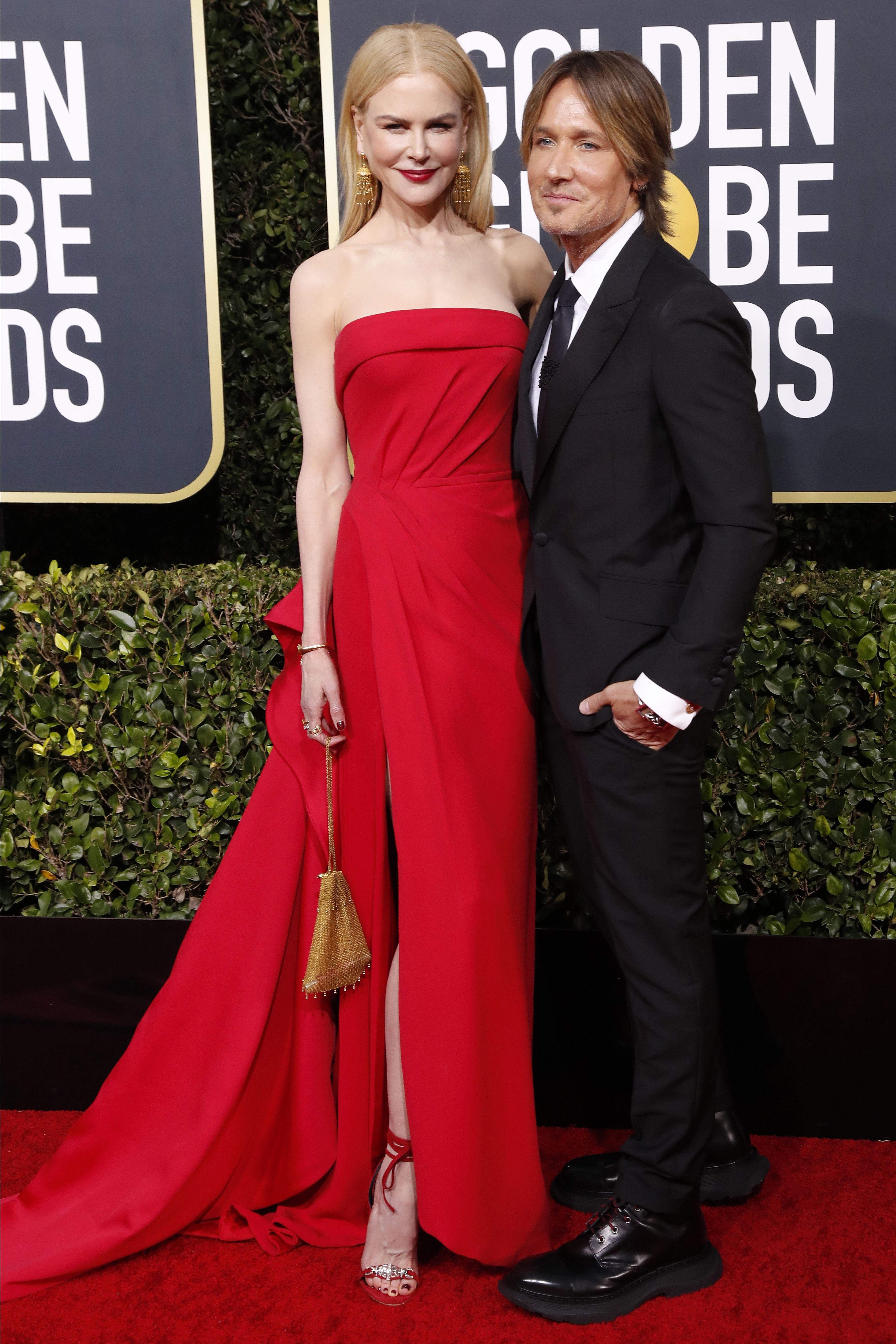 Nicole Kidman and Keith Urban arrive for the 77th annual Golden Globe Awards ceremony at the Beverly Hilton Hotel, in Beverly Hills, California, USA, 05 January 2020.Arrivals - 77th Golden Globe Awards, Beverly Hills, USA - 05 Jan 2020