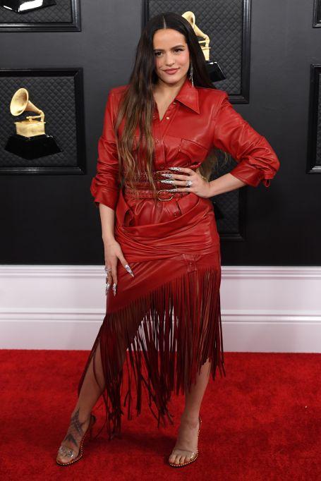 Rosalia 62nd Annual Grammy Awards, Arrivals, Los Angeles, USA - 26 Jan 2020Wearing Alexander Wang