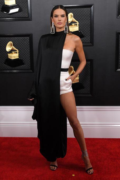 Alessandra Ambrosio62nd Annual Grammy Awards, Arrivals, Los Angeles, USA - 26 Jan 2020
