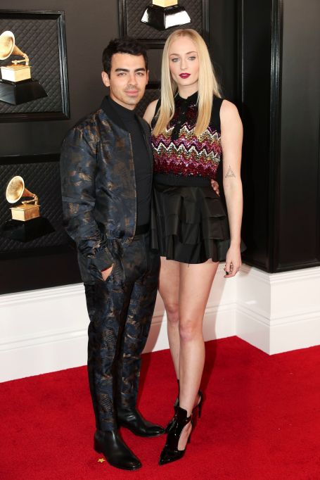 Joe Jonas and Sophie Turner62nd Annual Grammy Awards, Arrivals, Los Angeles, USA - 26 Jan 2020