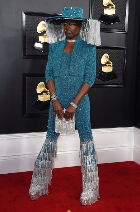 Billy Porter arrives at the 62nd annual Grammy Awards at the Staples Center, in Los Angeles62nd Annual Grammy Awards - Arrivals, Los Angeles, USA - 26 Jan 2020