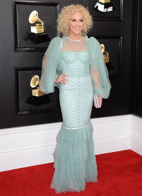 Kimberly Schlapman 62nd Annual Grammy Awards, Arrivals, Los Angeles, USA - 26 Jan 2020