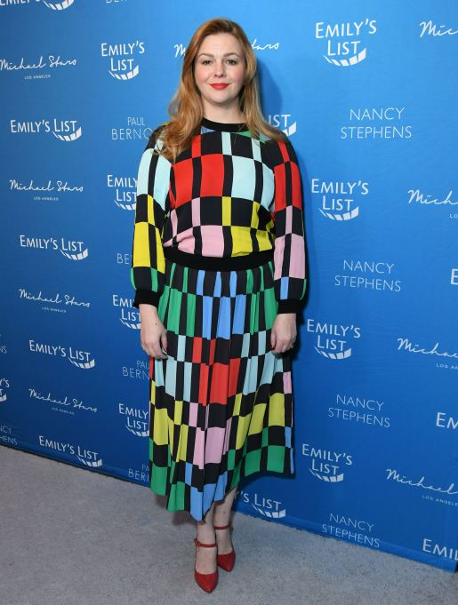 Amber Tamblyn at EMILY's List Brunch and Panel Discussion, 'Defining Women' in Los Angeles on February 3rd.