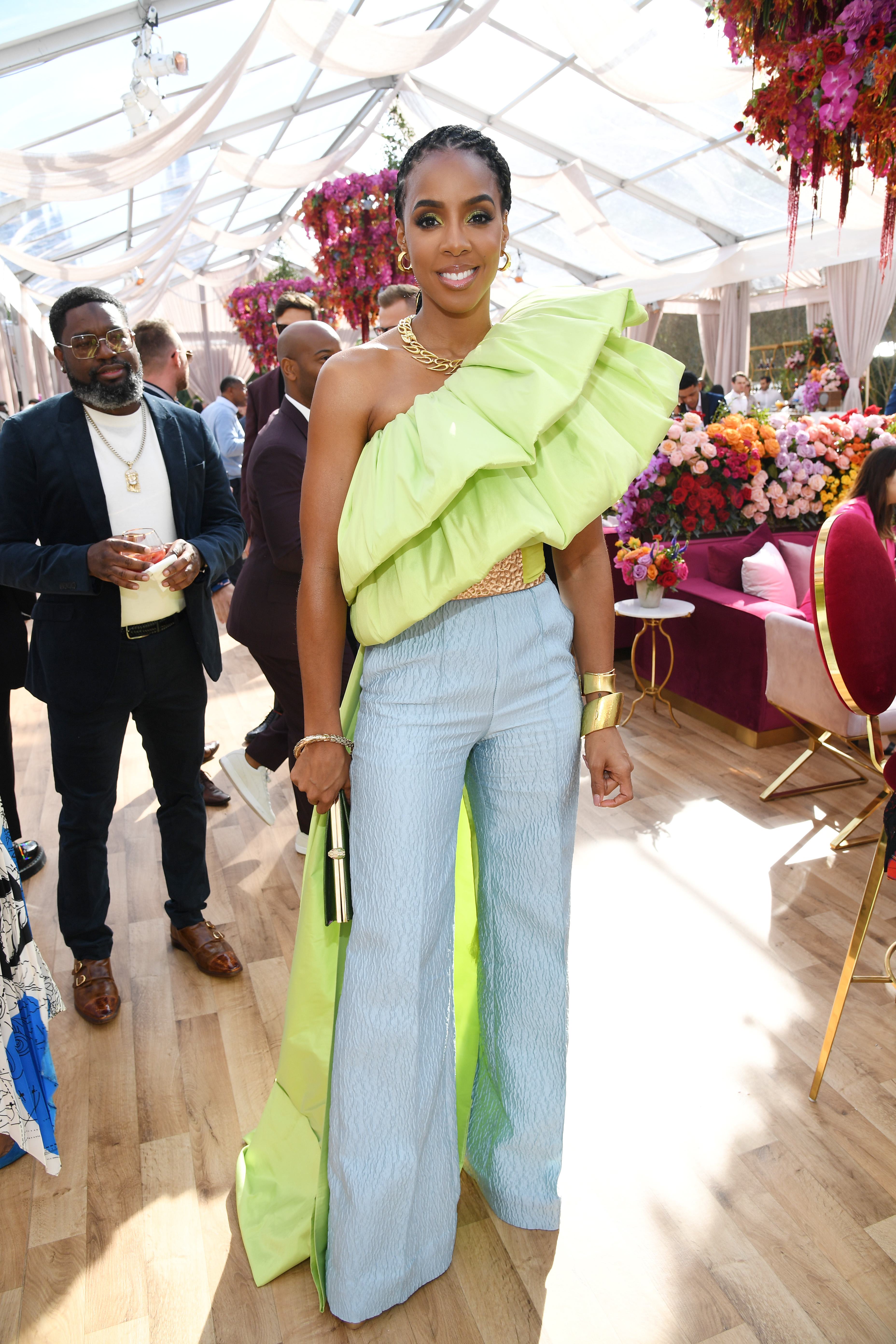 LOS ANGELES, CALIFORNIA - JANUARY 25: Kelly Rowland attends 2020 Roc Nation THE BRUNCH on January 25, 2020 in Los Angeles, California. (Photo by Kevin Mazur/Getty Images for Roc Nation)