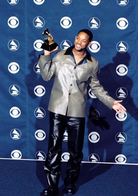 Will Smith 1999 Grammys red carpet