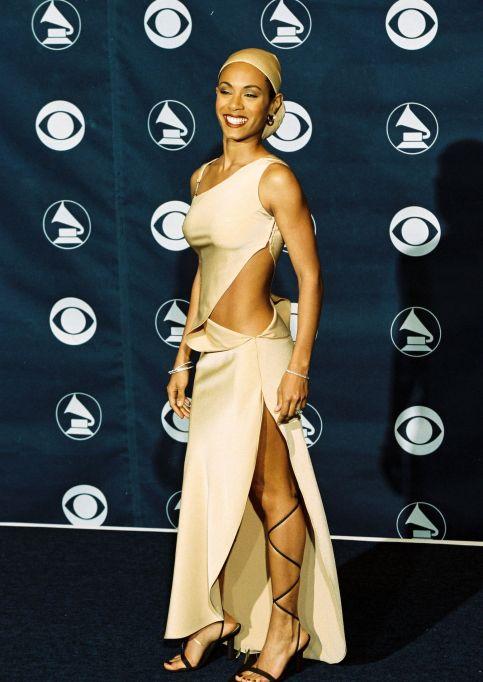 Jada Pinkett Smith 1999 Grammys red carpet
