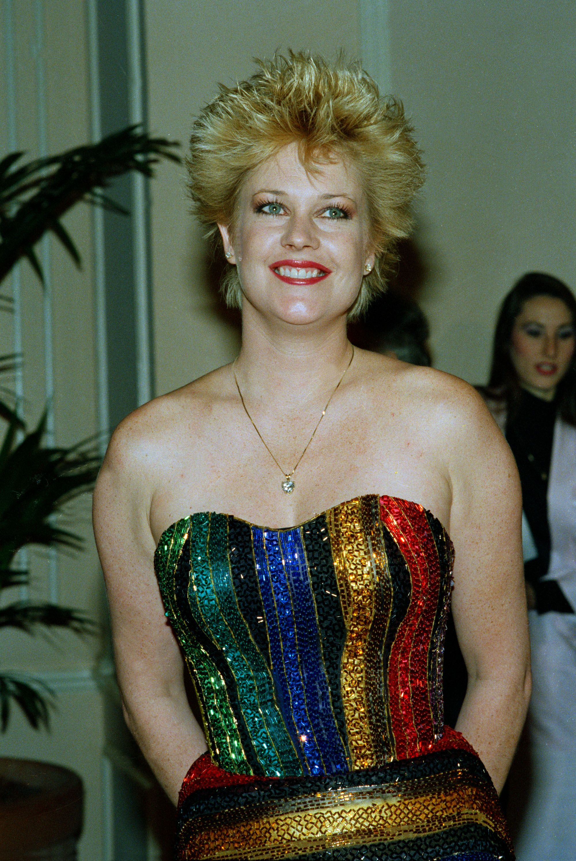 Griffith Actress Melanie Griffith is seen at the Golden Globe Awards in Los AngelesGolden Globes Griffith 1987, Los Angeles, USA