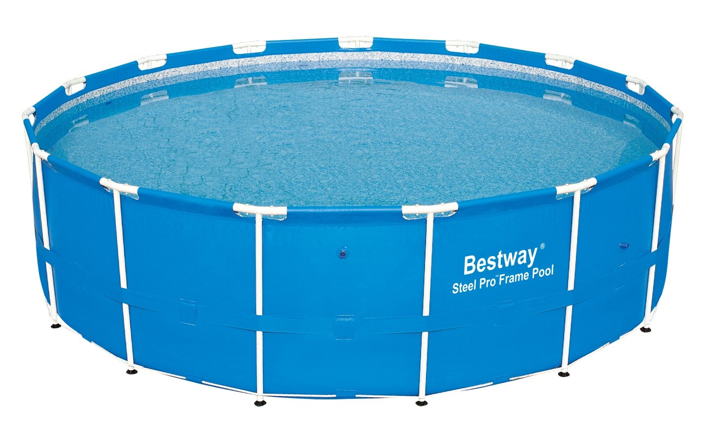 Bestway Steel Pro Above Ground 15ft x 48in Backyard Frame Pool Set