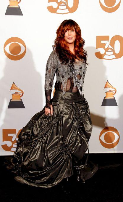 Cher 2008 Grammys red carpet