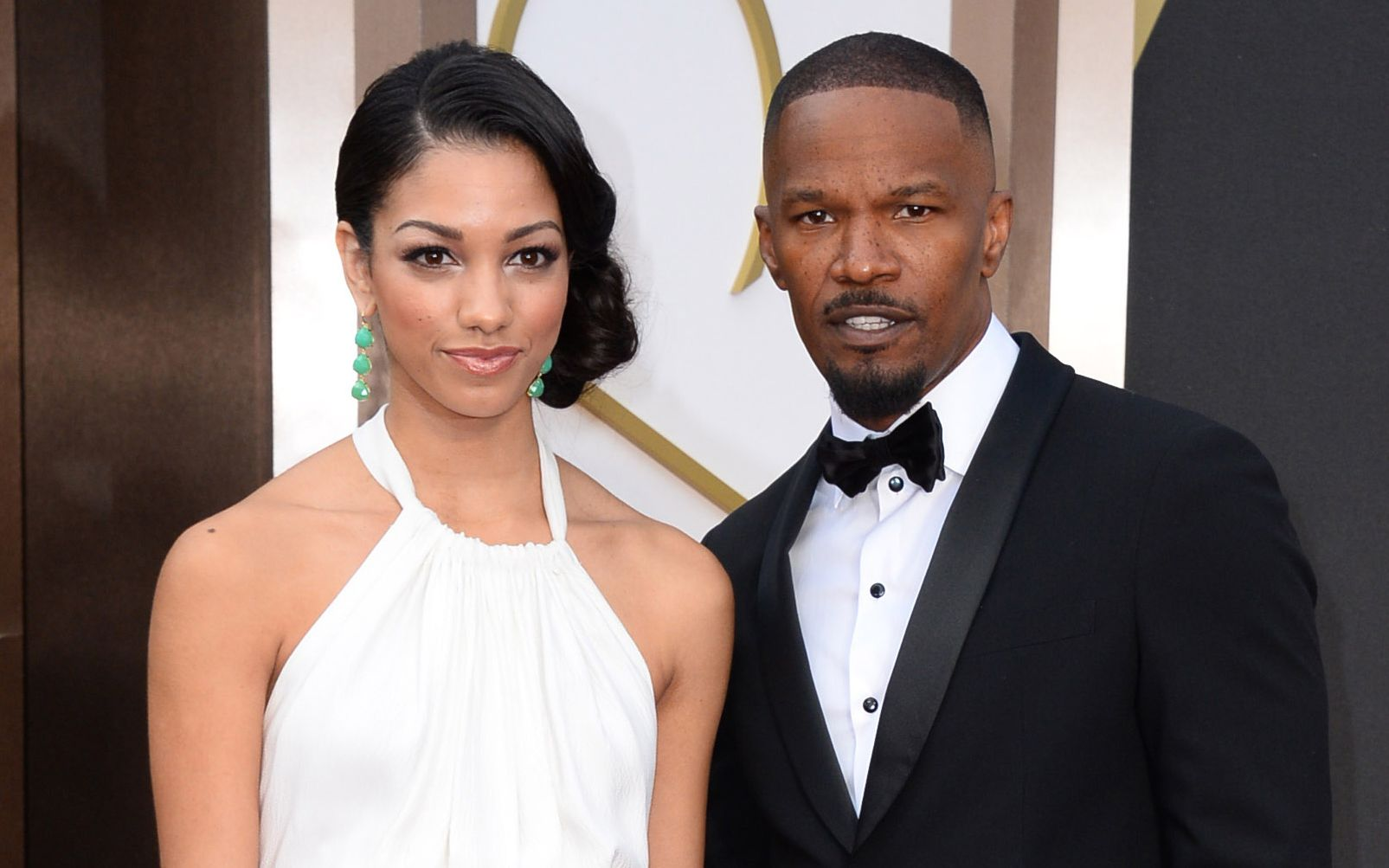 Actor Jamie Foxx, right, and daughter Corinne, arrive at the Oscars at the Dolby Theatre in Los Angeles. The Hollywood Foreign Press Association announced, that Corinne Foxx will serve as Miss Golden Globe at the ceremony in January. The Golden Globes will be presented Jan. 10, 2016Miss Golden Globe, Los Angeles, USA - 2 Mar 2014