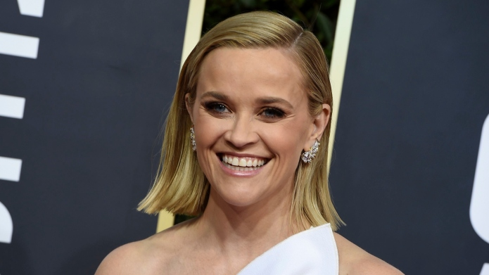 Reese Witherspoon at the 2020 Golden