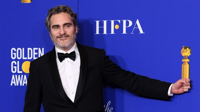 Joaquin Phoenix at the 2020 Golden