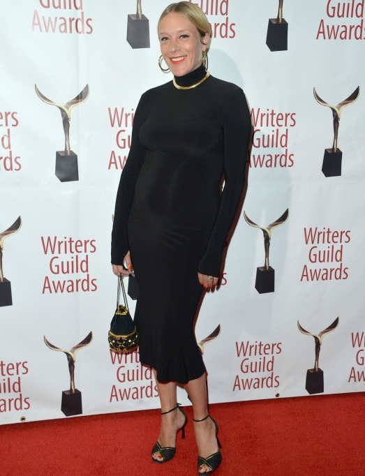 Chloe Sevigny Showing Off Baby Bump on the Red Carpet at the 72nd Annual Writers Guild Awards, 01 Feb 2020