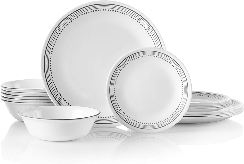 Corelle Mystic Gray Dinnerware Set