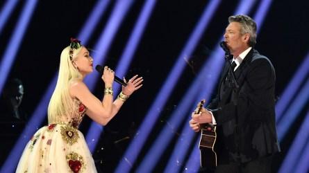 Gwen Stefani Blake Shelton 2020 Grammys