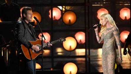 Gwen Stefani & Blake Shelton, 2016