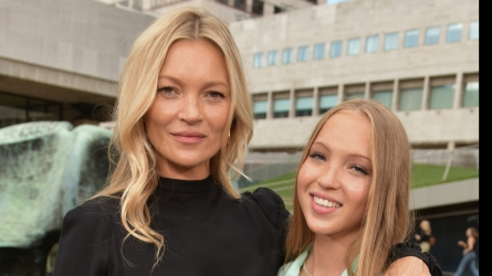 Kate Moss & Daughter Lila Grace