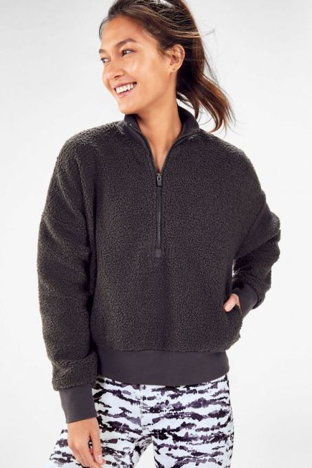 Workout Recovery Kit Essentials | Fabletics Fleece Pullover