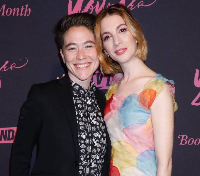 Molly Bernard and Hannah Lieberman