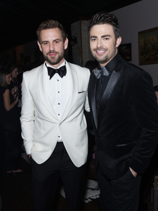 2020 Golden Globes Afterparties: Nick Viall & Jonathan Bennett