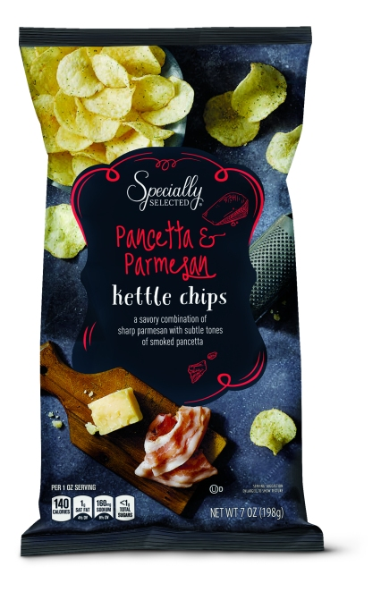 Specially Selected Balsamic Vinegar & Rosemary or Pancetta & Parmesan Kettle Chips