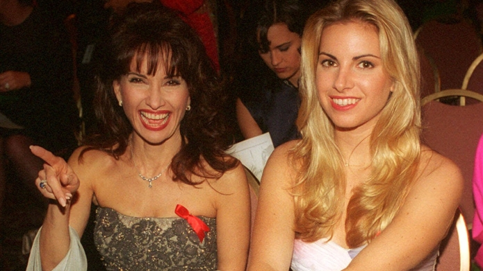 Susan Lucci and daughter Liza Huber