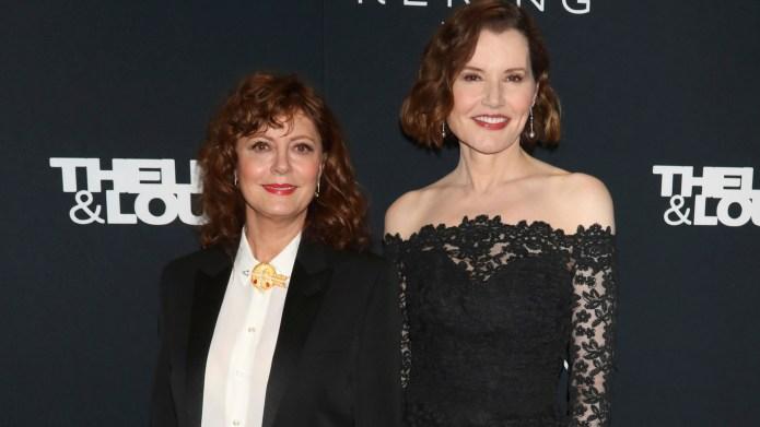 Thelma & Louise Reunion! Susan Sarandon