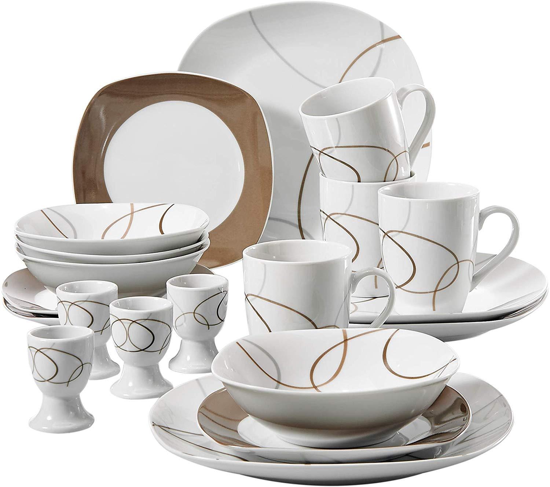VEWEET Nikita Series Dinnerware Set