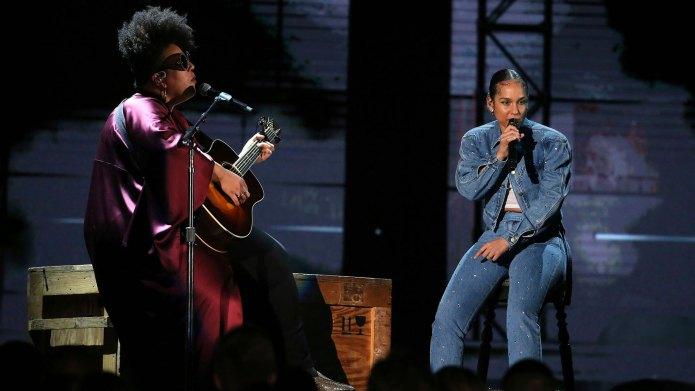 Alicia Keys Brittany Howard Grammys