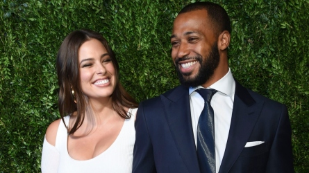 Ashley Graham & Husband Justin Ervin