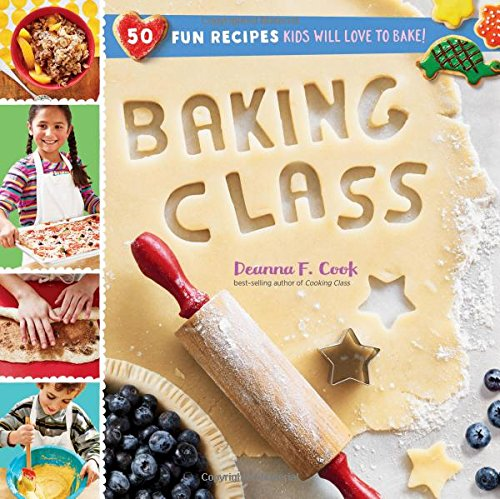 Best Valentine's Day Gifts for Kids Baking Class cookbook