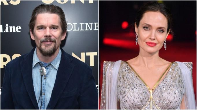Ethan Hawke: Angelina Jolie.
