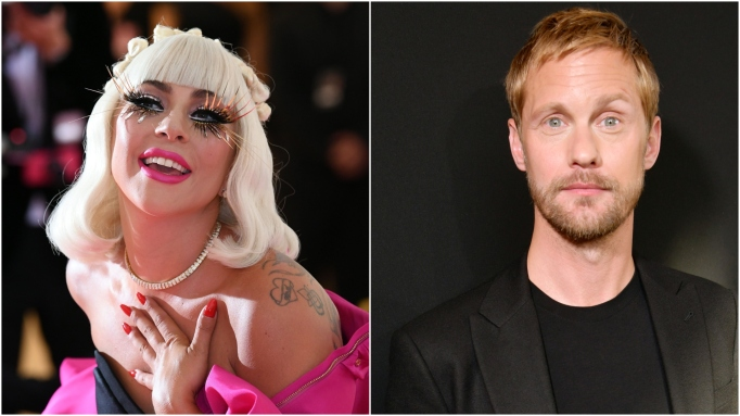 Lady Gaga: Alexander Skarsgard.