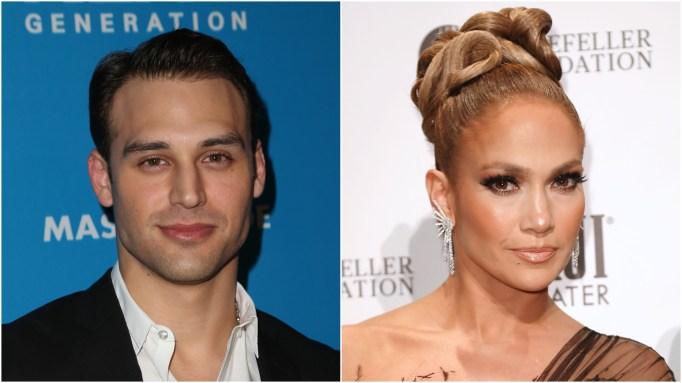 Ryan Guzman: Jennifer Lopez.