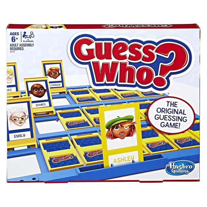 Best Board Games for Families Guess Who