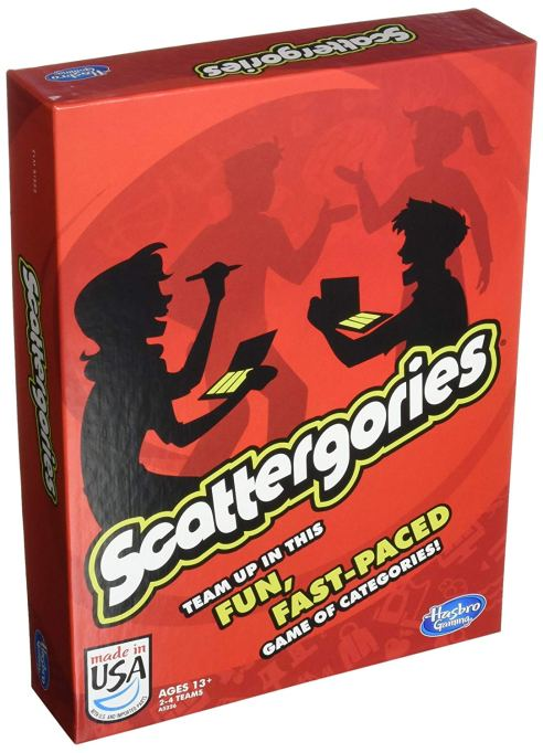 Best Board Games for Families Scattergories