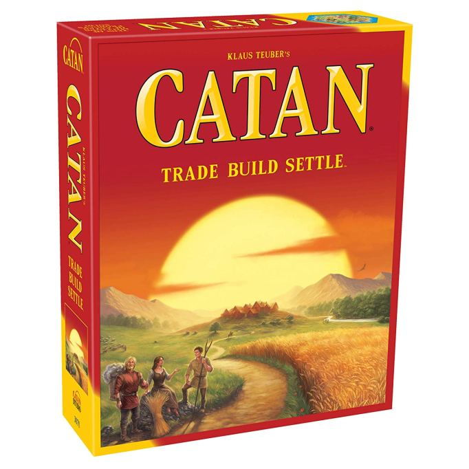 Best Board Games for Families Catan
