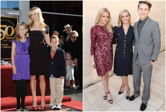 Ava and Deacon Phillippe with mom Reese Witherspoon