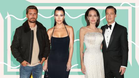 Scott Disick, Kourtney Kardashian, Angelina Jolie,