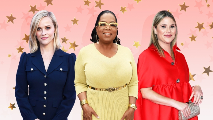 Reese Witherspoon, Oprah Winfrey, and Jenna