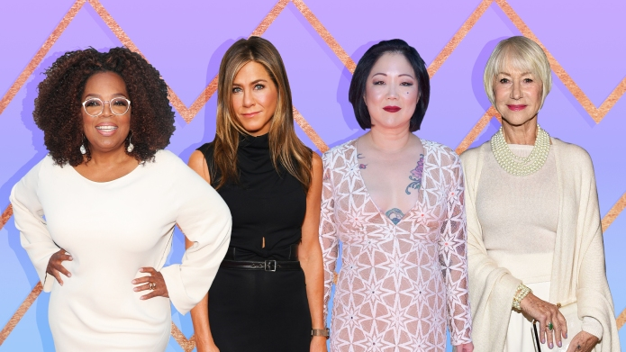 Oprah Winfrey, Jennifer Aniston, Margaret Cho,