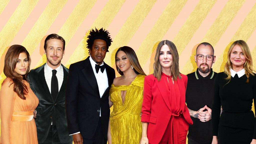Eva Mendes Ryan Gosling Jay-Z Beyoncé