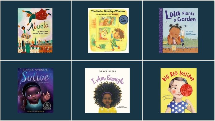 Black girls POC childrens books