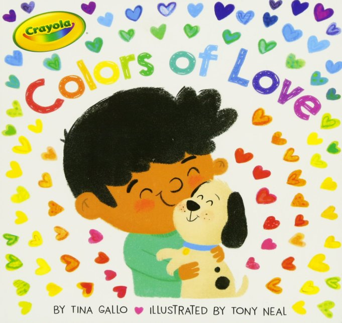 Valentine's Day Gifts for Kids Colors of Love
