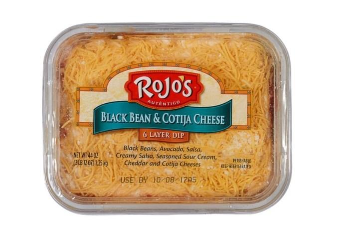 Blean & Cotija Cheese 6-Layer Dip.