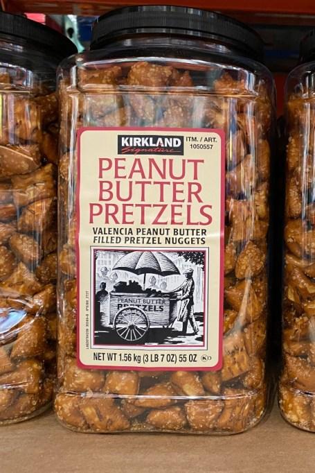 Peanut Butter Pretzels.